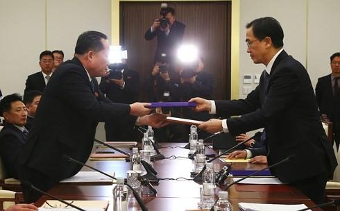 대한민국, 남북한 고위급 회담의 시점 확정 - ảnh 1