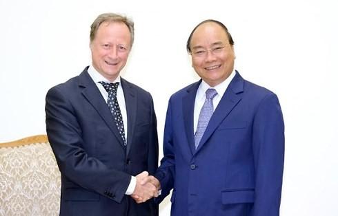 베트남 국무총리, 주베트남 유럽연합(EU) 대사 접견 - ảnh 1
