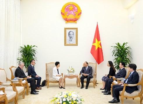 베트남 국무총리, 환경기금의  CEO (의장 겸직) 접견 - ảnh 2