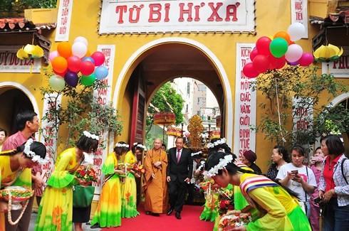 베트남 지역들의 불력2562년 석가탄신 대제전 - ảnh 3