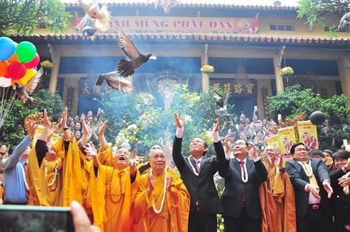 베트남 지역들의 불력2562년 석가탄신 대제전 - ảnh 4