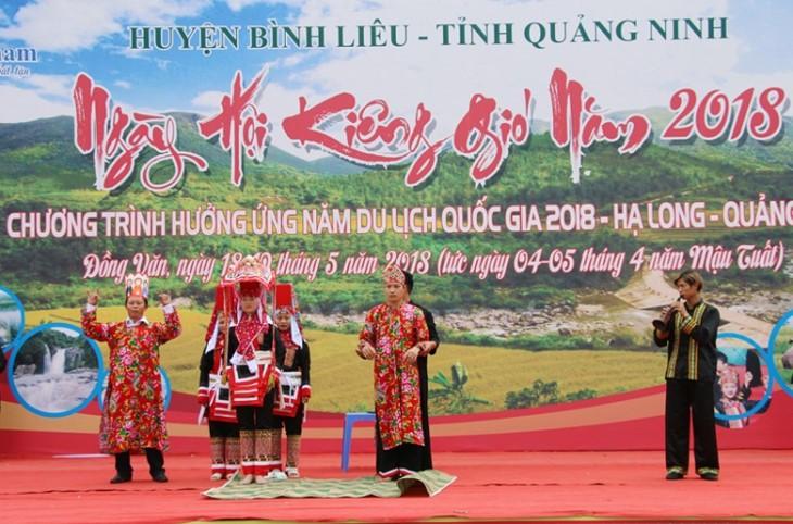 Quang Ninh성 Dao Thanh Phan족의 'Kieng gio'축제 - ảnh 1