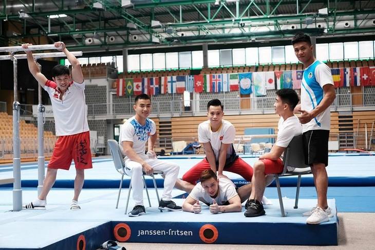 베트남 체조 선수단, 2018세계 예술 챌린지 컵 (World Challenge Cup ART)에서 2 개의 금메달 수상 - ảnh 4