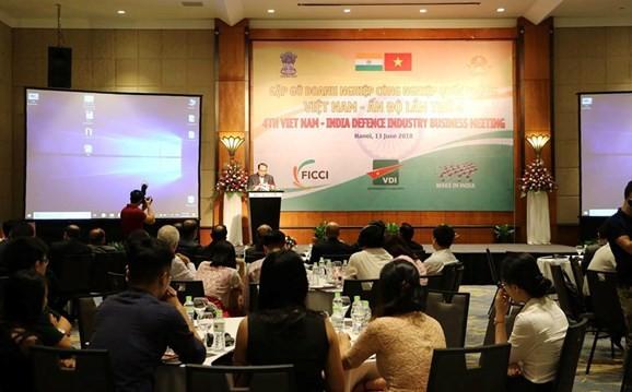 제 4 차 베트남 - 인도 방위 산업체 회합 - ảnh 1