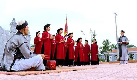 Phu Tho, 무형 문화 유산의 가치들을 보호하고 발휘 - ảnh 1