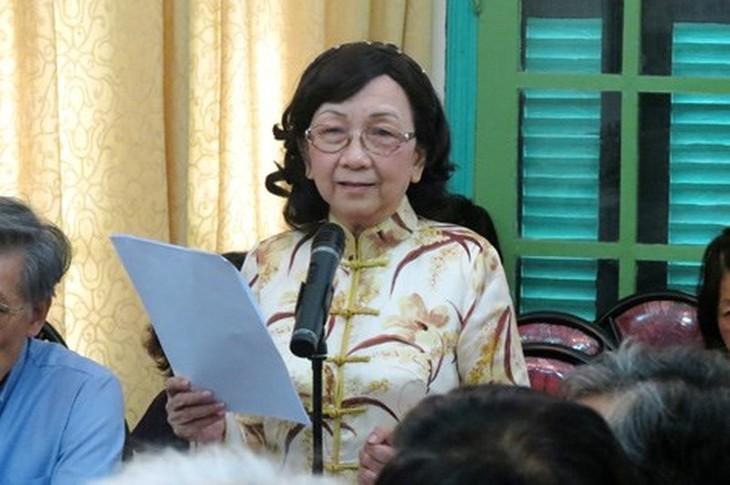 Pham Thi Tran Chau교수: 애국은 자기의 일에 최선을 다 하는 것이다. - ảnh 2