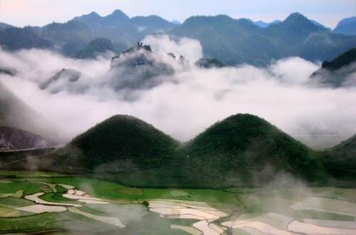 Quan Ba 산악과 쌍둥이 산의 전설 - ảnh 1