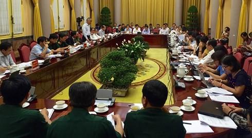 베트남 국가주석 사무국, 7개법 공지 - ảnh 1