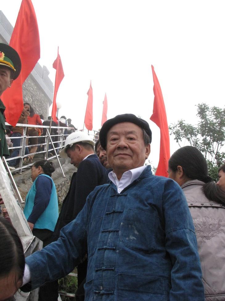 Hung Dinh Quy시인과 Lung Cu깃대의 이야기 - ảnh 1