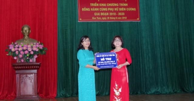 """베트남 껀뚬 성: """"국경의 여성과의 동반자""""사업의 출정식 - ảnh 1"""
