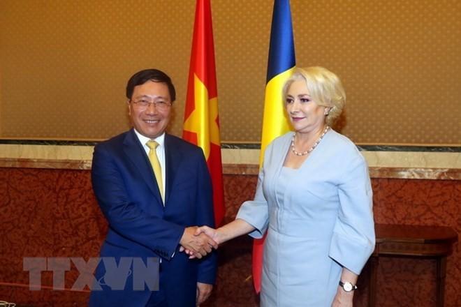 베트남 외무부 장관인 팜빈민 부총리, 루마니아 공식 방문 - ảnh 2