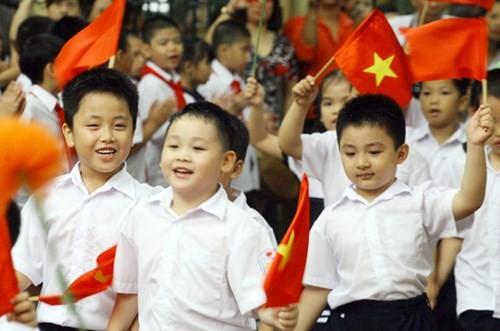 베트남, 아동들의 아동 문제 참여 권리 장려 - ảnh 1
