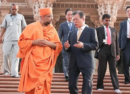 문재인 한국 대통령, 인도 방문 - ảnh 1