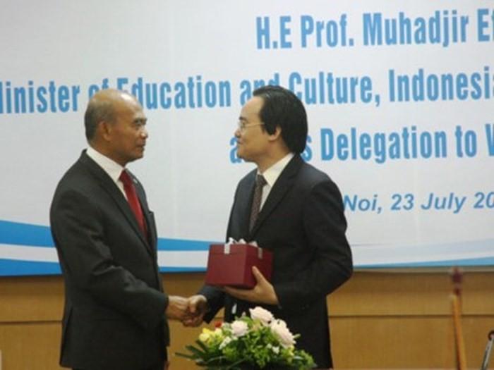 베트남은  동남 아시아 국가 교육장관들과 교육협력강화 - ảnh 1