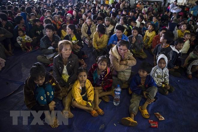 라오스 수력발전댐 붕괴… SK그룹 구호 지원 - ảnh 1
