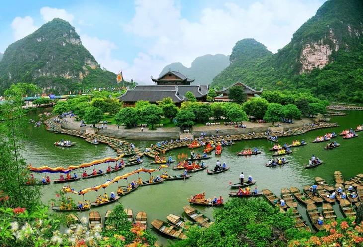 Memperkenalkan sepintas lintas tentang pusaka alam dunia Trang An  - ảnh 1