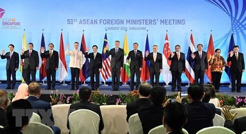 (일본, 중국, 러시아, 뉴질랜드) 아세안 외무장관 회의 및 대회상대 - ảnh 1