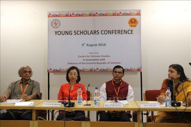 2018베트남 - 인도 차세대 학자 컨퍼런스 통해 양국 관계 증진 - ảnh 1