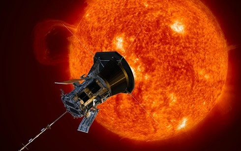 NASA, 일류 최초 태양 탐사선 성공 발사 - ảnh 1