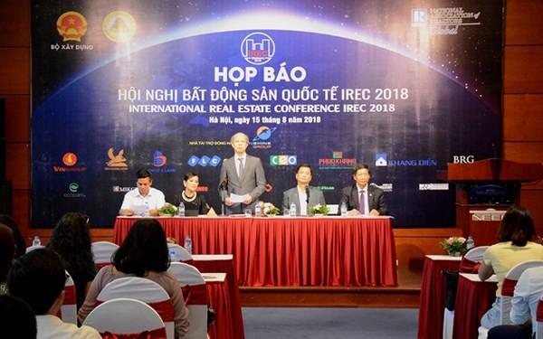 베트남, 최초의 국제 부동산 컨퍼런스 (IREC 2018) 개최 - ảnh 1