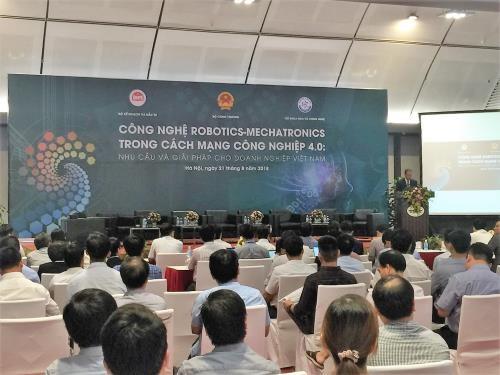 베트남에서 로봇 기술을 강화하기 위한 연계 - ảnh 1