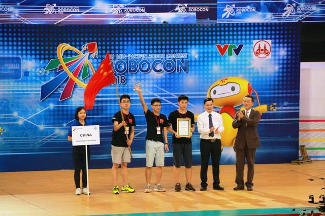 베트남의 제2팀,  2018  아시아 태평양 로봇 경연 대회 (ABU 로보콘) 우승 - ảnh 3