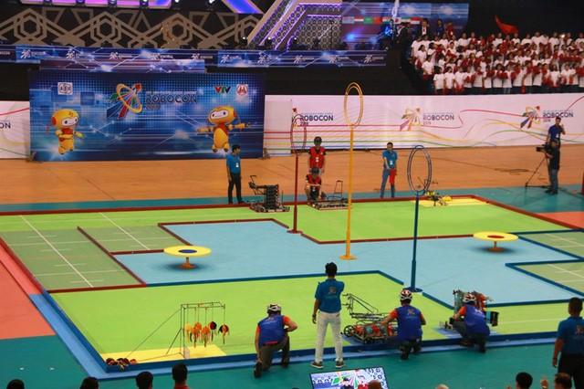 베트남의 제2팀,  2018  아시아 태평양 로봇 경연 대회 (ABU 로보콘) 우승 - ảnh 1