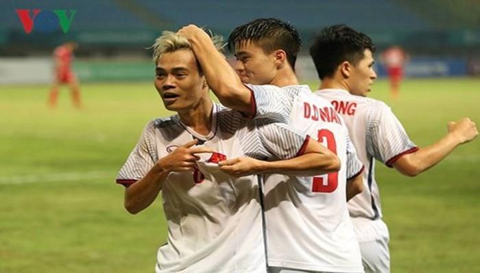 베트남 축구,  ASIAD준결승에 처음으로 들어가 - ảnh 1