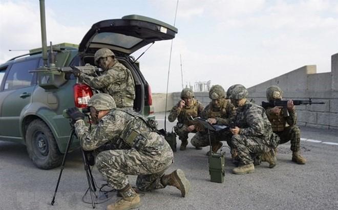 미국, 한반도 군사훈련 중단 중지 발표 - ảnh 1