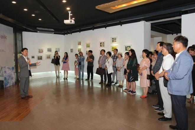 베트남 하노이,  한국의 현대미술 소개 - ảnh 1