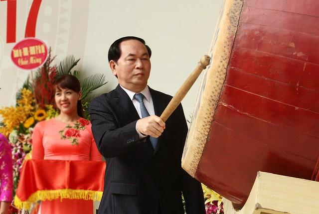 Tran Dai Quang 국가주석, 새 학년을 맞아 전국 교사 치하 - ảnh 1
