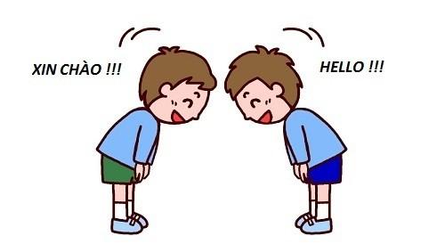 Bài học số 1: Cách chào hỏi bằng tiếng Hàn - ảnh 1
