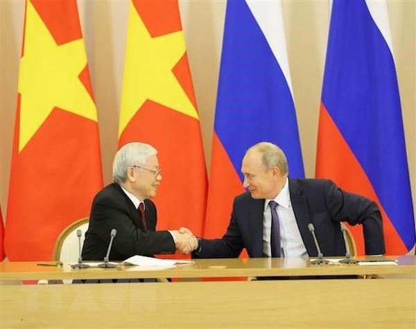 Nguyen Phu Trong 서기장의 러시아 연방 공식방문, 러시아 – 베트남 다면 협력관계의 심화에 새 동력 - ảnh 1