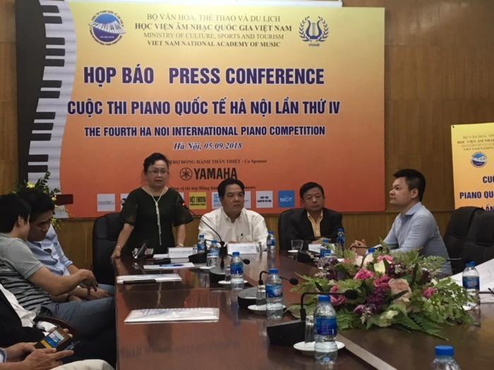 하노이 국제 피아노 콩쿠르에 참가한 9 개 국가 및 지역 - ảnh 1