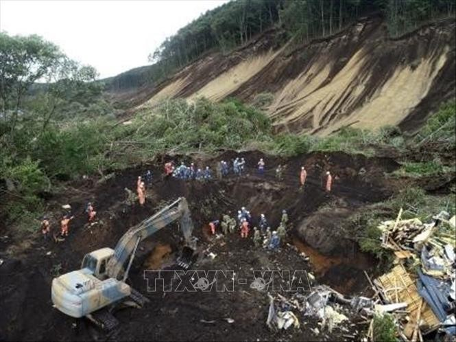 Nguyen Xuan Phuc 총리, 일본에 지진 및 산 사태 위문 전화 - ảnh 1