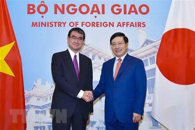 2018년 아세안  세계 경제 포럼에서 일본 및 베트남, 미국의 CPTPP  재참가 호소 - ảnh 1