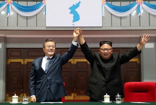 미국 대표와 북한, 오스트리아에서