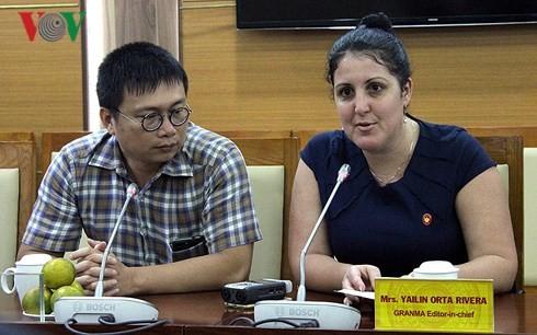 베트남 국영 라디오 방송국과 쿠바 그란마 (Granma) 신문사 간의 협력 강화 - ảnh 2
