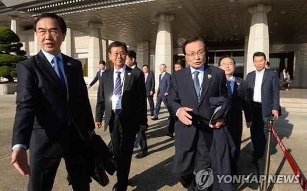 2007 년 남북 정상 회담 기념을 계기로 한국 대표단이 조선 방문 - ảnh 1