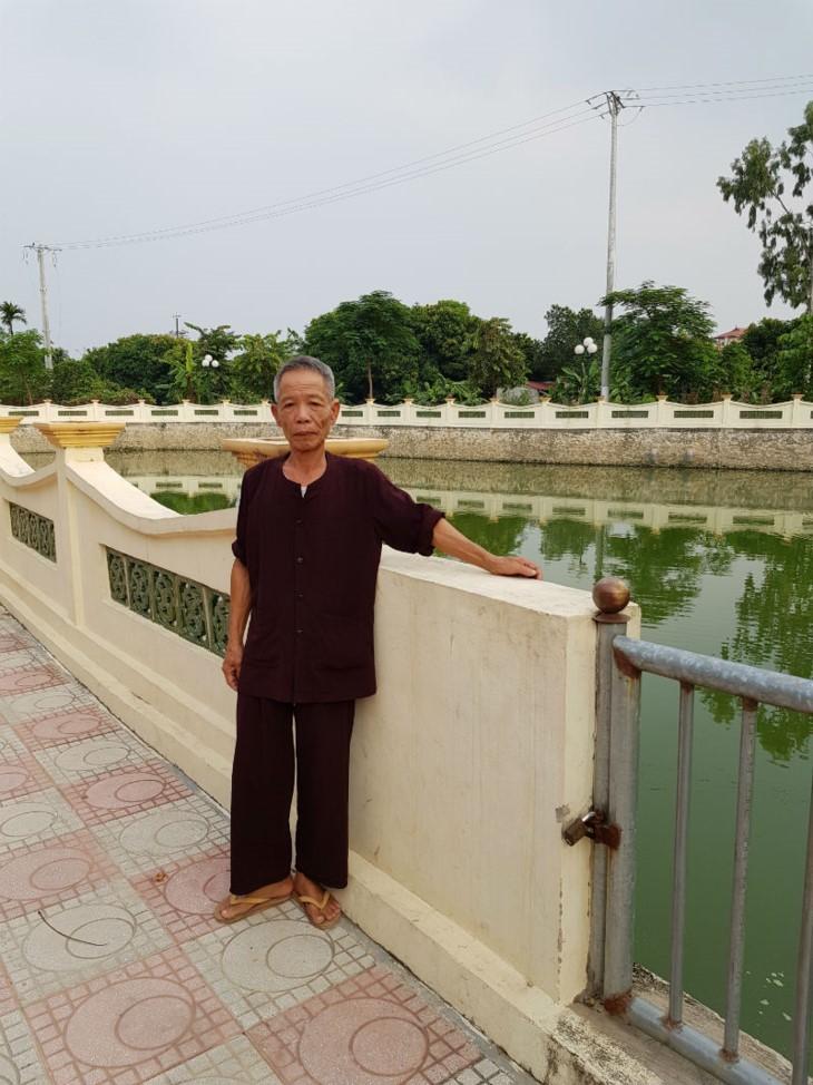 퇴역용사 응웬 뜨 훙 (Nguyễn Tứ Hùng) – 2018년 하노이 우수 시민 - ảnh 1