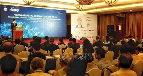 2018년 베트남 디지털 경제 포럼 - ảnh 1