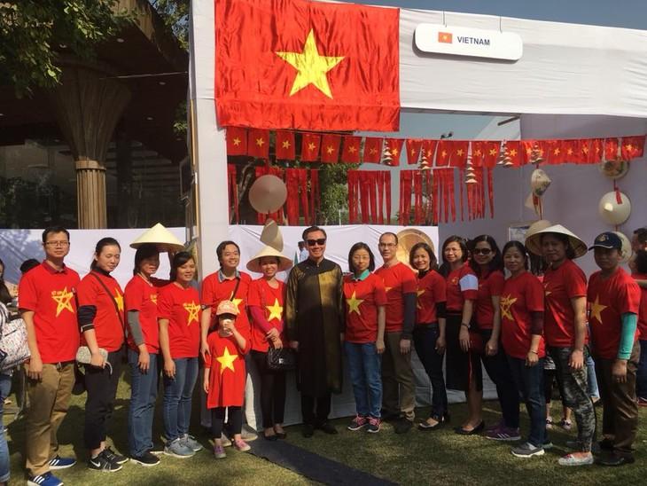 베트남,  2018 뉴 델리 외교단 국제 바자회 참여 - ảnh 1