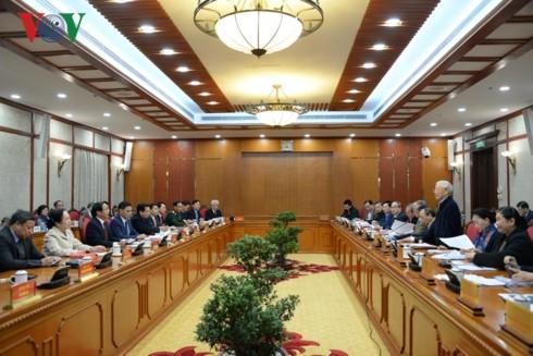 응우옌 푸 쫑 서기장 – 국가주석, 하이퐁에서 업무회의 - ảnh 1