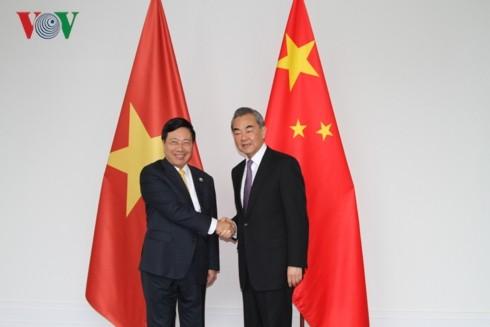 베트남과 중국 간의 포괄적인 전략적 협력관계를 공고히 하고 발전시킨다. - ảnh 1