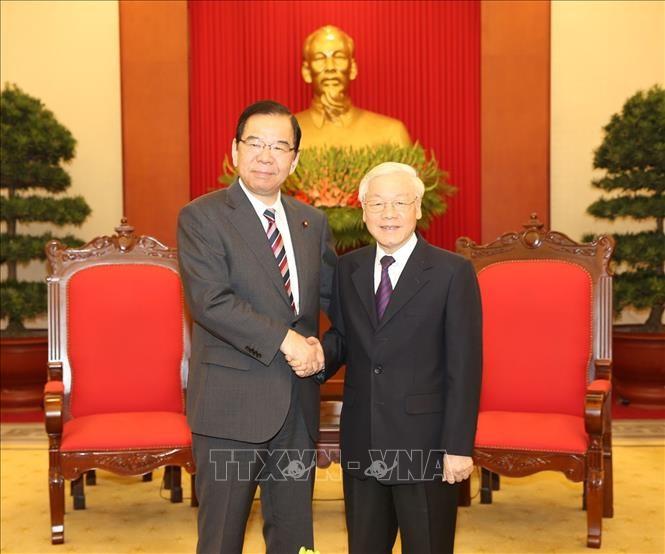 응우옌 푸 쫑 서기장-국가주석, 일본 공산당 대표단 접견 - ảnh 1