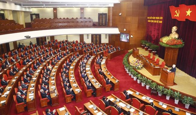 제12기 당중앙위원회 제9회의 폐막 - ảnh 1