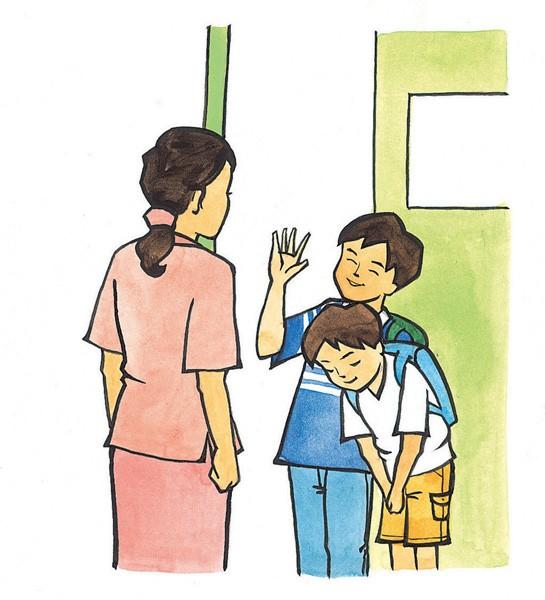 제2강: 헤어질 때 사용하는 인사말 - ảnh 1