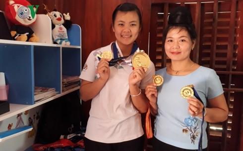 베트남 타이족 펜칵실랏의 여제, '금의환향' - ảnh 2