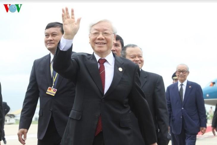 베트남, 선린 관계 유지 촉진 - ảnh 1