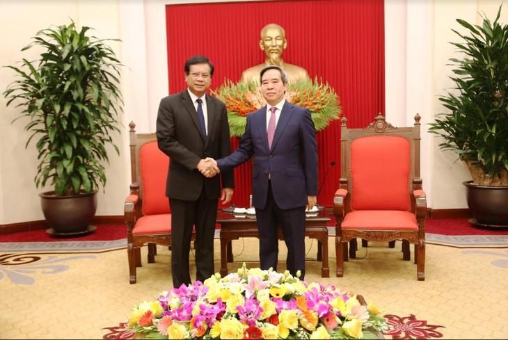 베트남, 라오스에 경제발전 경험 공유 만반의 준비 - ảnh 1